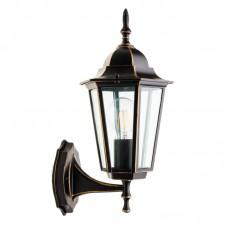 Lampa ogrodowa LO4101 CZARNO-ZŁOTA
