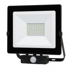 Naświetlacz LED MHNC z czujnikiem 50W barwa CIEPŁOBIAŁA