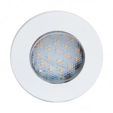 Oprawa do wbudowania LED SINGLE CIRCLE BIAŁA barwa ciepła